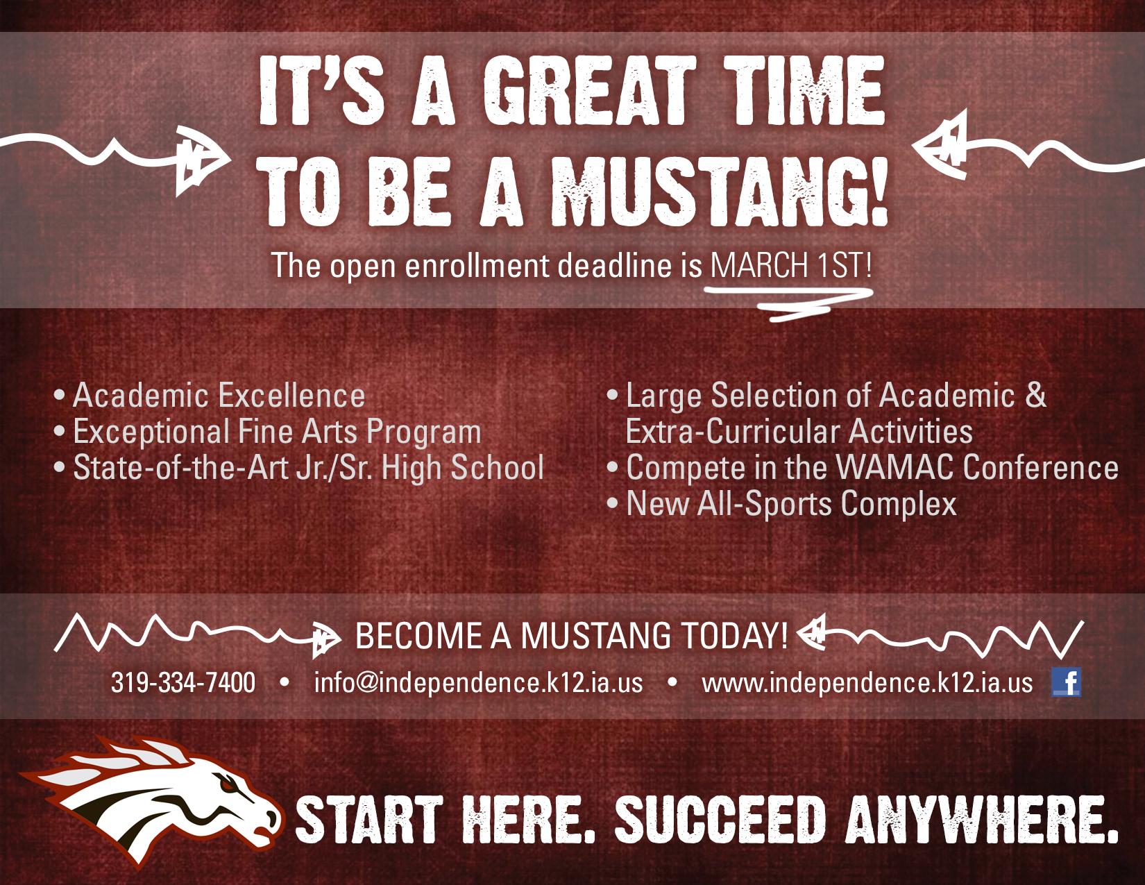 Open enroll ad