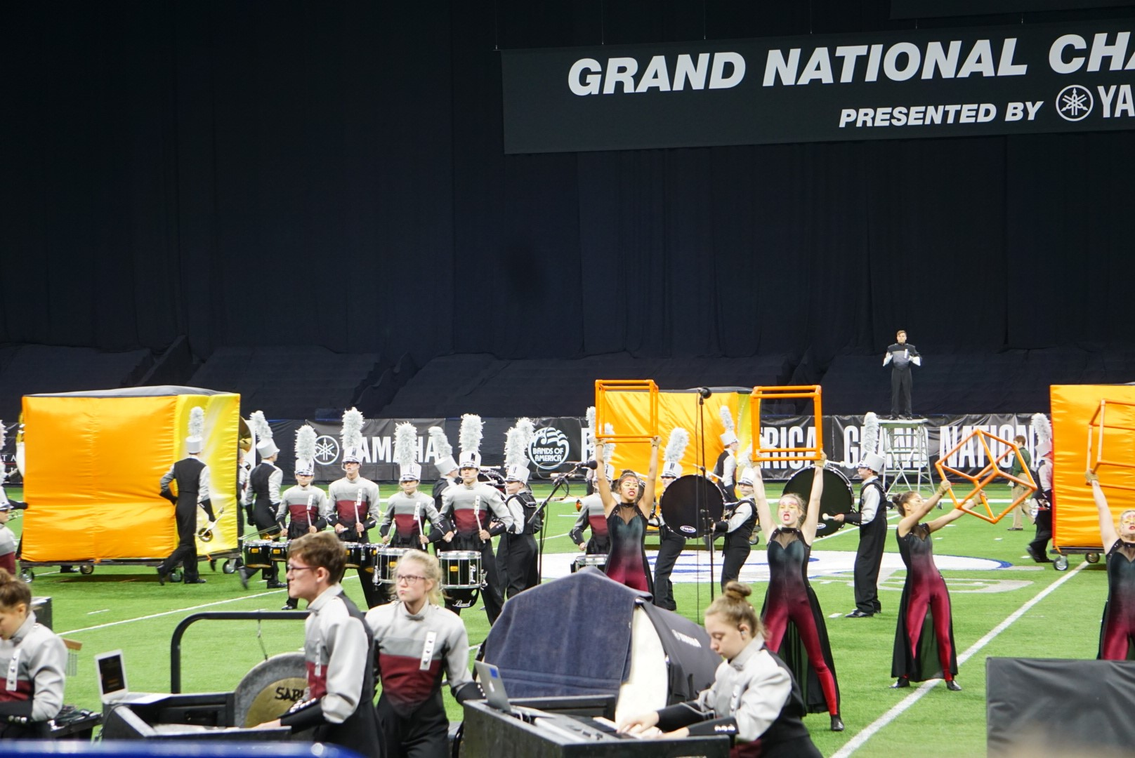 Independence Marching Band Competes in Indianapolis - Independence