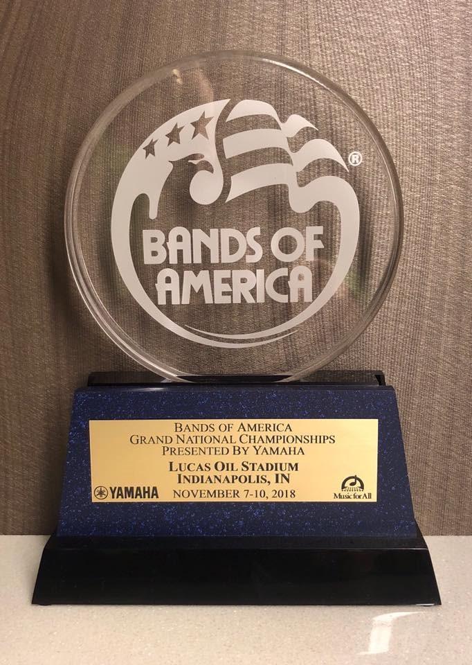 bands of America award