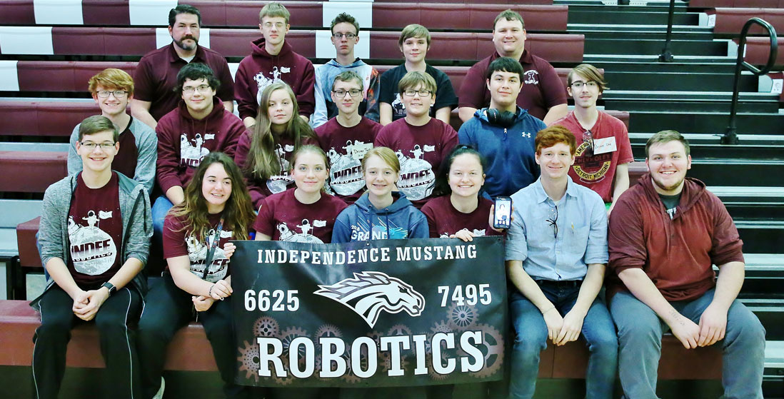 robotics team photo