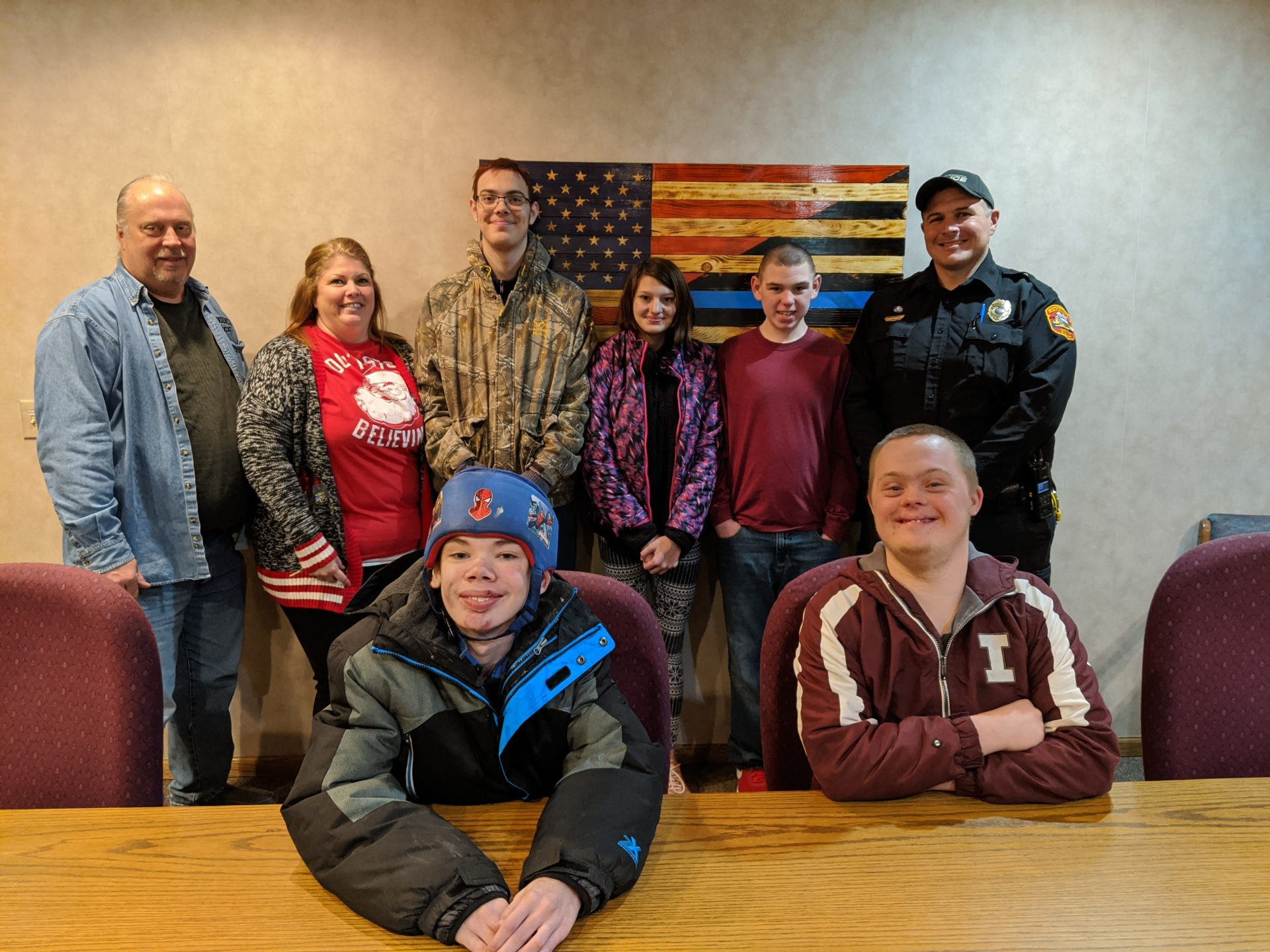 Independence students bring treats to the Independence Police Department