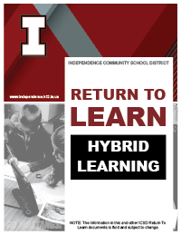 Hybrid learning plan cover