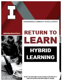 Hybrid learning plan cover